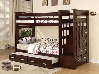 Tempat Tidur Anak Tingkat 3 Susun