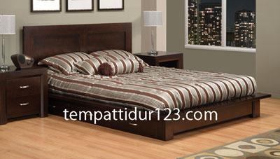 Tempat Tidur Minimalis 3 Laci