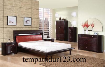Desain Modern Set kamar Minimalis