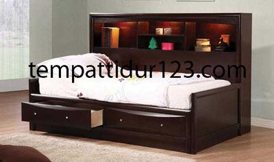 Tempat Tidur Anak Semi Minimalis Sofa