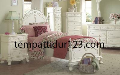 Tempat Tidur Anak Model Ukir Mewah