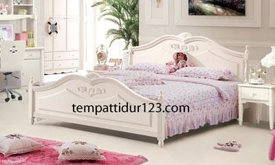 Tempat Tidur Anak Ukir Perempuan