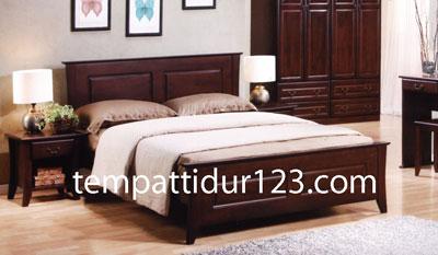 Tempat Tidur Minimalis Kaki Lengkung Murah