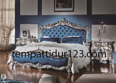 Tempat Tidur Ukir Racoco