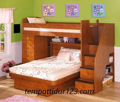 Tempat Tidur Anak Tingkat 2 Susun