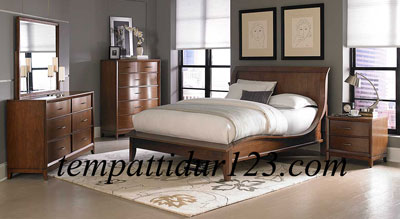 Pusat Furniture Makasar Set Tempat Tidur Minimalis