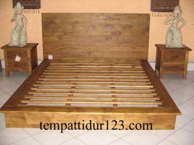 Tempat Tidur Minimalis Bali Murah