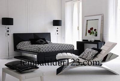 ranjang minimalis modern desain rumah