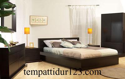 Tempat Tidur Set Minimalis Mewah