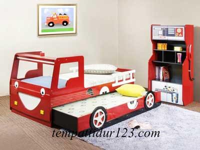 Ranjang Anak Karakter Mobil II