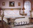 Tempat Tidur Cantik Ukiran Cleopatra