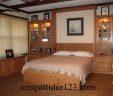Bed Frame Minimalis Laci Mewah