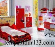 Ranjang Set Anak Karakter Mobil Sport