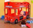 Ranjang Tingkat Anak Karakter Bus Internasional