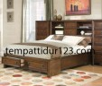 Tempat Tidur Minimalis Laci-laci Mewah